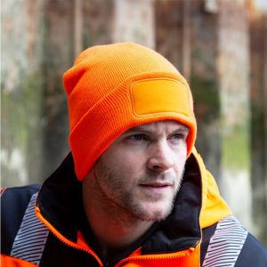Result - Double Knit Thinsulate Printers Beanie - RC034X