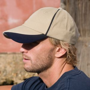 Result - Heavy Brushed Cotton Cap - RC051