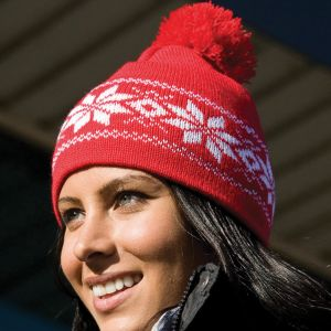 Result - Fair Isles Knitted Hat - RC151