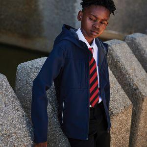 Regatta - Kids Octagon Hooded Soft Shell Jacket - RG262