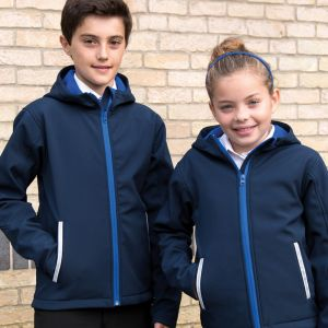 Result - Core - Kids TX Performance Hooded Soft Shell Jacket - RS224B