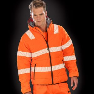 Result - Genuine Recycled Ripstop Padded Safety Jacket - RS500