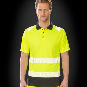 Result - Genuine Recycled Safety Polo Shirt - RS501