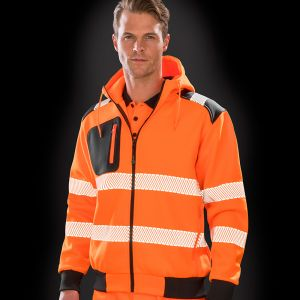 Result - Genuine Recycled Robust Safety Zip Hoodie - RS503