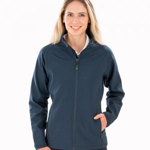 Result - Genuine Recycled Ladies Printable Soft Shell Jacket - RS901F