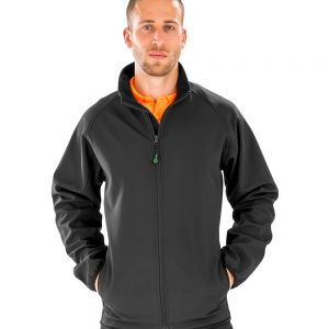 Result - Genuine Recycled Mens Printable Soft Shell Jacket - RS901M