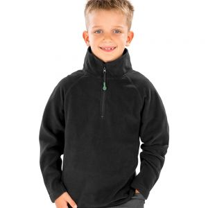 Result - Genuine Recycled Kids Zip Neck Micro Fleece - RS905B