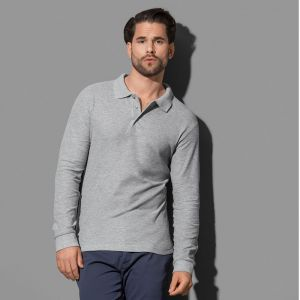 Stedman - Long Sleeve Polo - ST3400