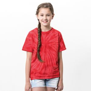 Colortone - Kids Tonal Spider Short Sleeve T-Shirt - TD01B