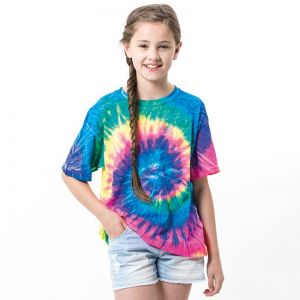 Colortone - Kids Tie-Dye Short Sleeve T-Shirt - TD02B