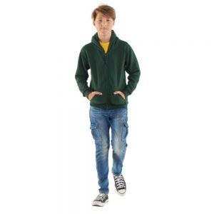 Uneek - Childrens Classic Full Zip Hooded Sweatshirt - UC506