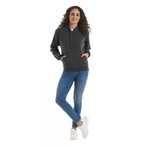 Uneek - Ladies Deluxe Hooded Sweatshirt - UC510