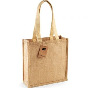 Westford Mill - Jute Compact Tote Bag - WM406