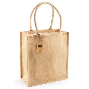 Westford Mill - Jute Boutique Shopper - WM409