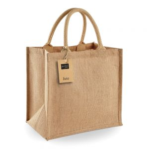 Westford Mill - Jute Midi Tote Bag - WM413