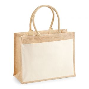 Westford Mill - Pocket Jute Shopper - WM427