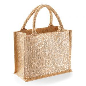 Westford Mill - Shimmer Jute Mini Gift Bag - WM431