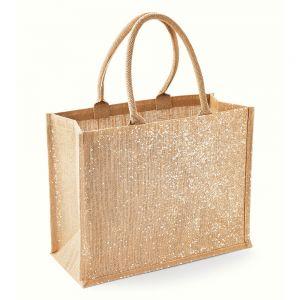 Westford Mill - Shimmer Jute Shopper - WM437