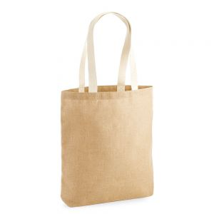 Westford Mill - Unlaminated Jute Tote Bag - WM455