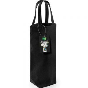 Westford Mill - Fairtrade Cotton Bottle Bag - WM620