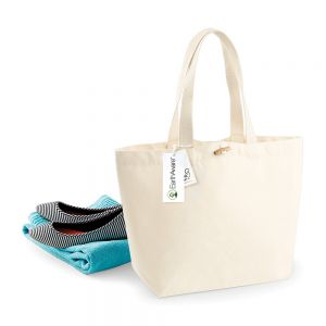 Westford Mill - EarthAware Organic Marina Tote Bag - WM850
