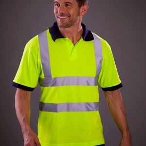 Yoko - Hi-Vis Short Sleeve Polo Shirt - YK015