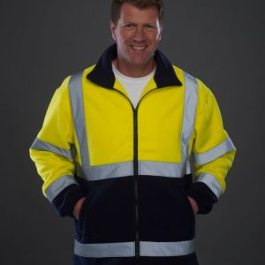 Yoko - Hi-Vis Heavyweight Fleece Jacket - YK060