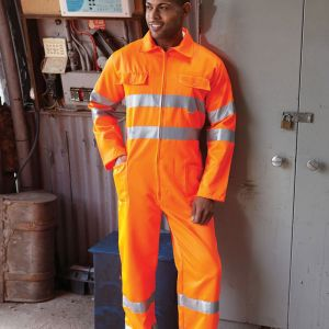 Yoko - Hi-Vis Poly/Cotton Coverall - YK303
