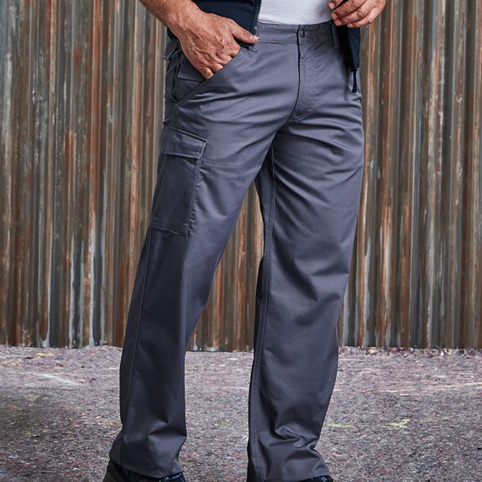 Russell - Poly/Cotton Twill Work Trousers - J001M