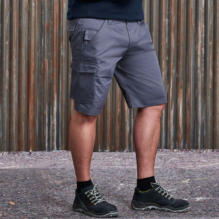 Russell - Poly/Cotton Twill Work Shorts - J002M