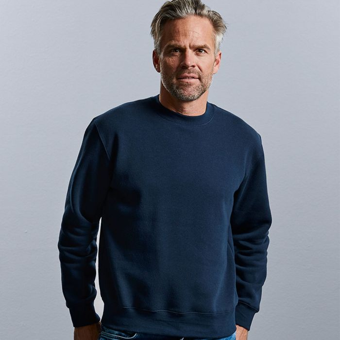 Russell Jerzees - Authentic Set-In Sleeve Sweatshirt - J262M