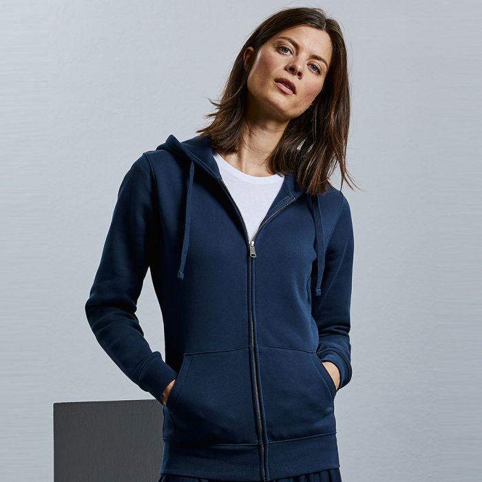 Russell Jerzees - Women's Authentic Zipped Hooded Sweatshirt - J266F