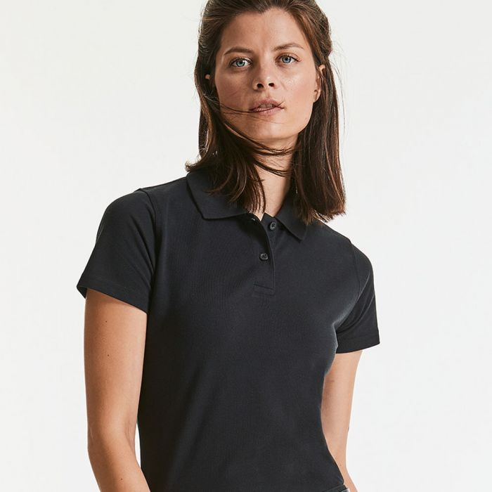 Russell - Women's Classic Cotton Polo - J569F