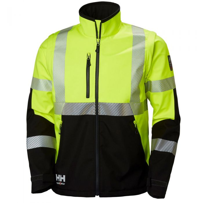 Helly Hansen - ICU Hi Vis Class 3 Softshell Jacket - 74272