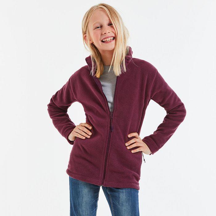 Russell Jerzees - Kids Full Zip Outdoor Fleece - J870B
