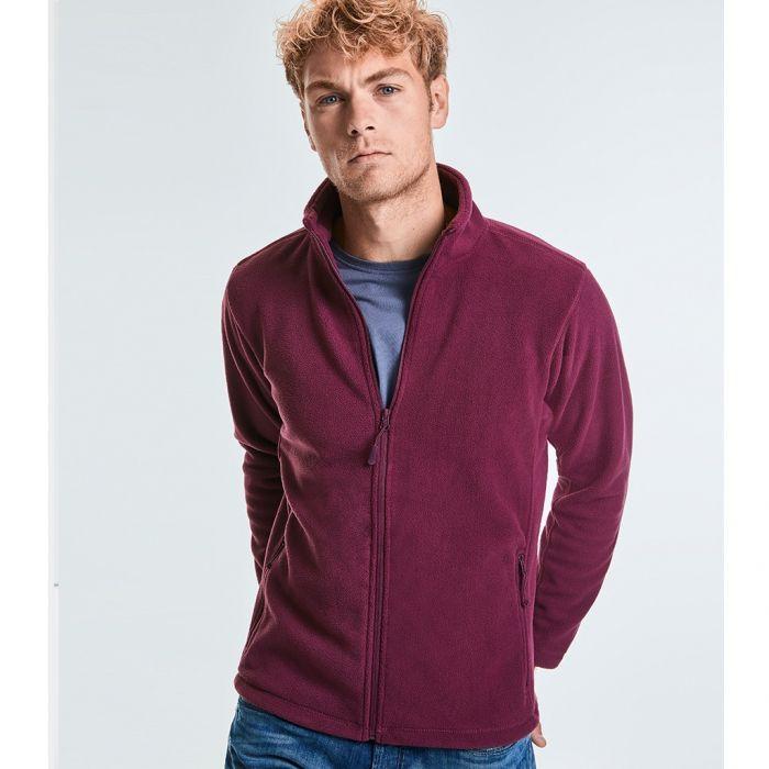 Russell - Full Zip Outdoor Fleece - J870M