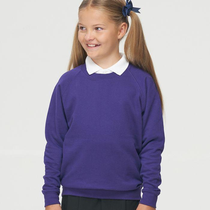 AWDis Academy - Kids Raglan Sweatshirt - AC001B