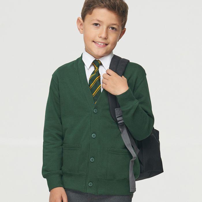 AWDis Academy - Kids Cardigan - AC002B
