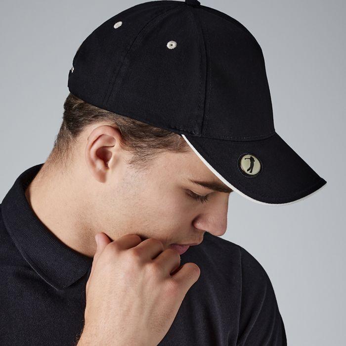 Beechfield - Pro-Style Ball Mark Golf Cap - BB185