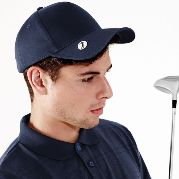Beechfield - Pro-Style Ball Mark Golf Cap - BB185