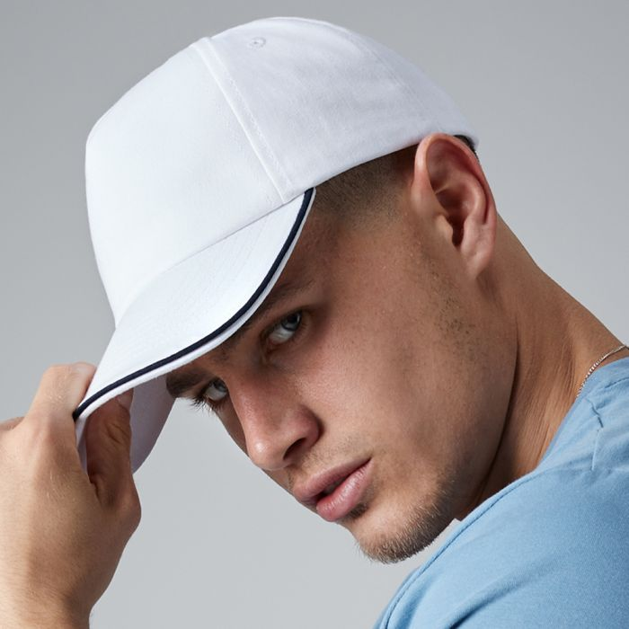 Beechfield - Authentic Piped 5 Panel Cap - BB25C