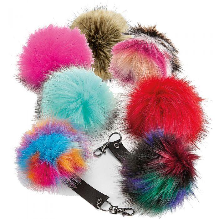 Beechfield - Fur Pop Pom Key Ring - BB400