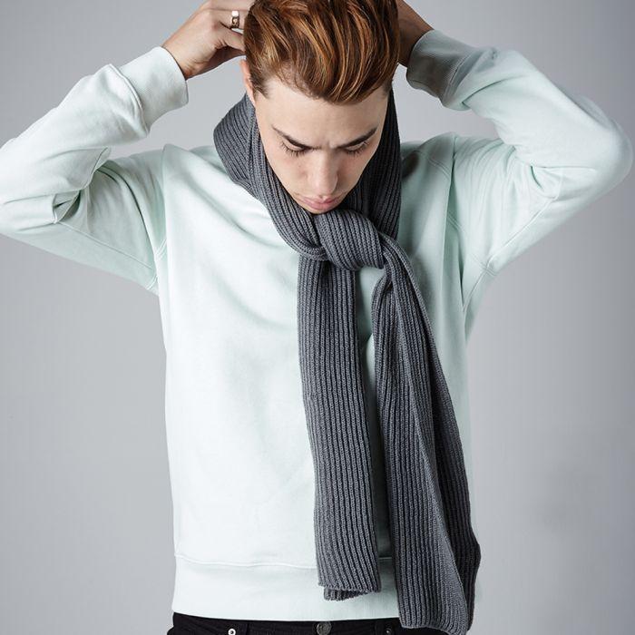 Beechfield - Metro Knitted Scarf - BB469