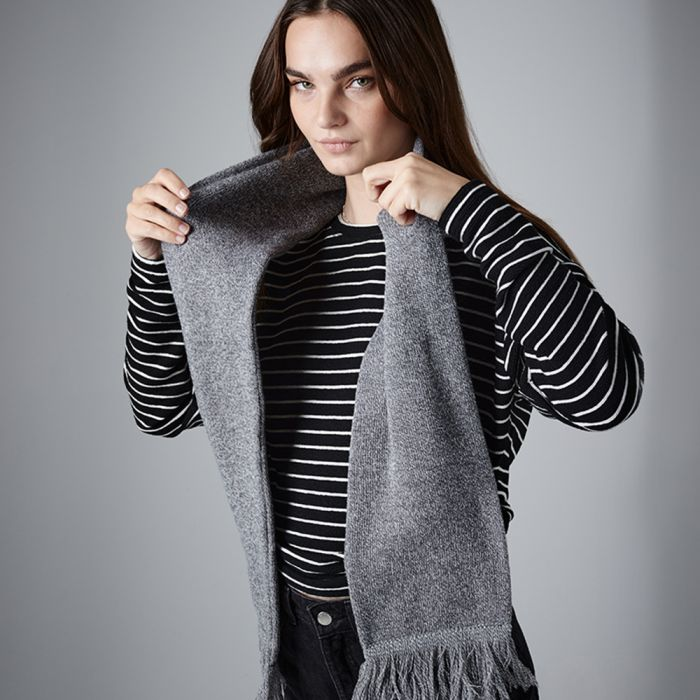 Beechfield - Classic Knitted Scarf - BB470