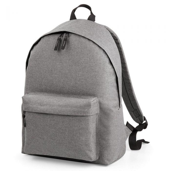 BagBase - Two Tone Fashion Backpack - BG126