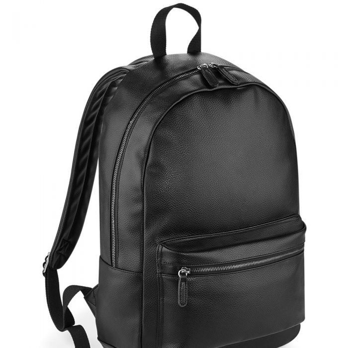 BagBase - Faux Leather Backpack - BG255