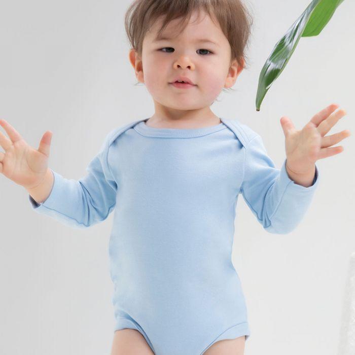Babybugz - Baby Organic Long Sleeve Bodysuit - BZ30
