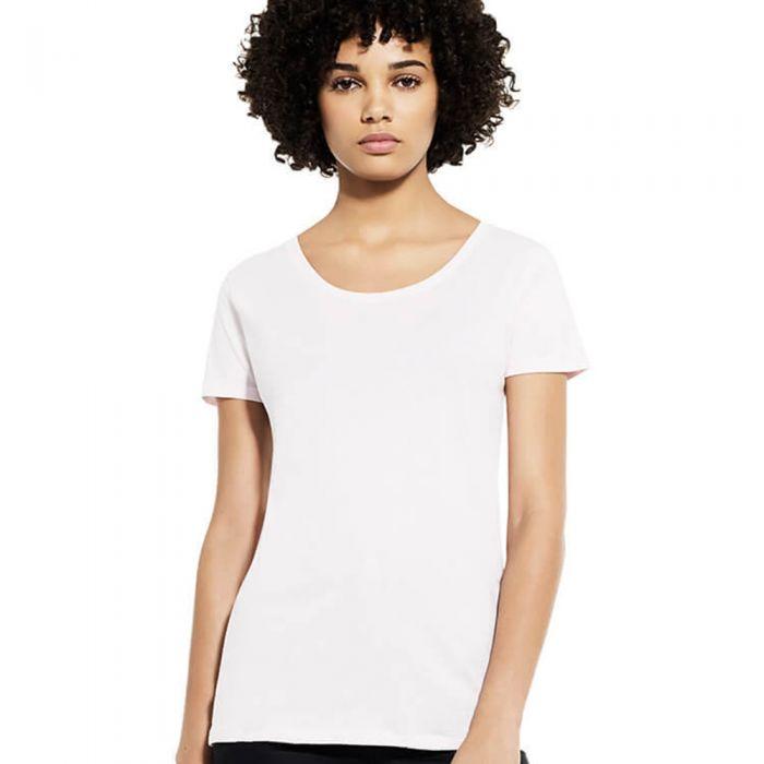 Earth Positive - Women's Open Neck T-shirt - EP09