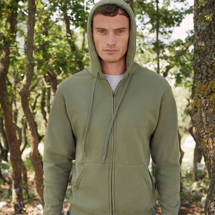 Fruit of the Loom - Classic Hooded Zip Sweat Jacket - F62-062-0