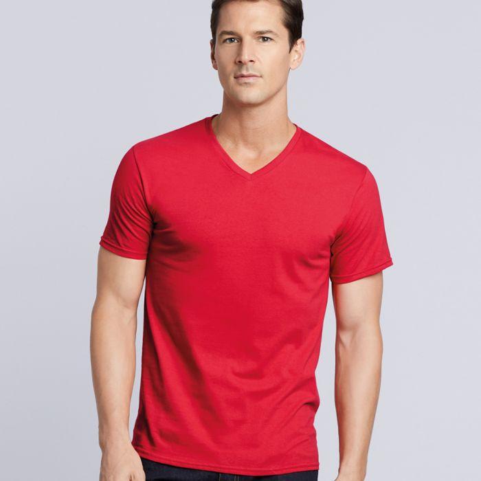 Gildan - Premium Cotton V-Neck T-Shirt - GD09